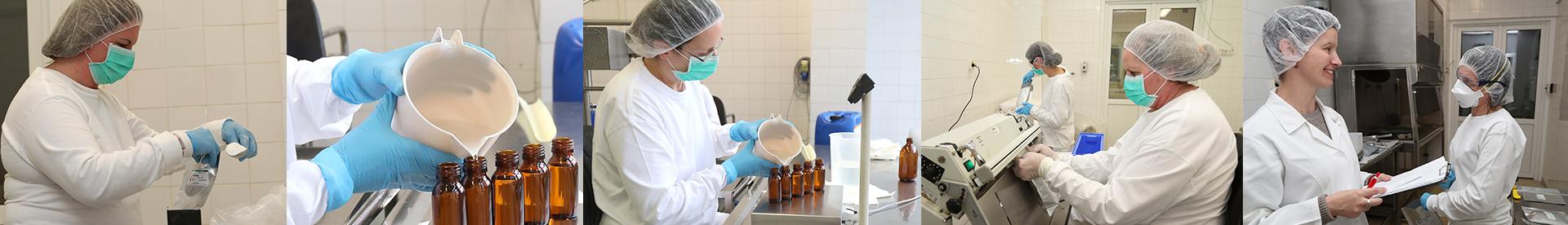 Anyagvizsgáló laboratórium, gyógyszer alapanyag